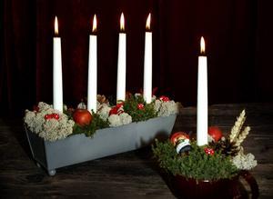 Snart vet vi vem som tänder ljusen på julafton. ARKIVBILD