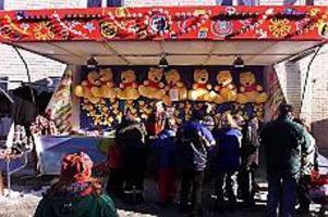 Arkivbild Tradition. Till helgen anordnas vintermarknaden i Ockelbo för nionde året. Som vanligt är det Ockelbo basket och Ockelbo IK som arrangerar.
