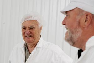 Lennart Edström, 83, är företagets allt i allo. Utan honom skulle inte Kjell Ungh ha klarat sig, enligt eget utsago.