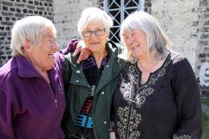 Sylvia Darnell, Marga Boustedt och Marianne Ling har många års erfarenhet bakom sig i konstvärlden – men landskapskonst är nytt för alla tre.