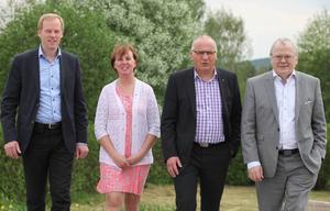 Seppo Tupeli, Gunilla Zetterström-Bäcke, Sten-Olov Salomonsson och Stefan Storholm har som mål att ett kraftvärmeverk ska byggas i Sveg inom något år.