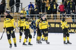 Femte raka matchen utan en seger för ÖSK Bandy.