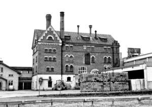 Bryggeriet i Bollnäs som revs 1981.