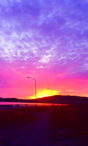 Vilka himlar vi fått uppleva i sommar. Denna från Minnesgärdet, en kväll i Augusti. Åsa Gustafsson