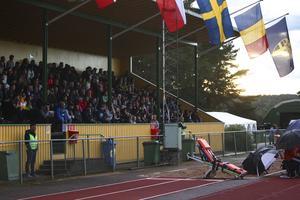 479 personer kom till Erik Hamréns plan i Ljusdal för att se Sverige–Rumänien.