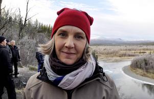 Miljöminister Karolina Skog (MP) gästade nyligen länet för att se på de insatser som gjorts, görs och behöver göras dels vid Tysjöarna utanför Östersund och dels i Vålådalsområdet.