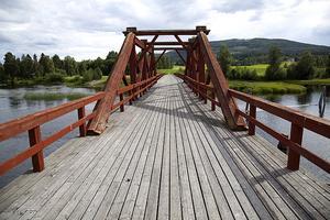 Vikbron på S:t Olavsleden, Nordens pilgrimsled.