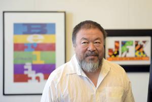 Ai Weiwei delade ut Stockholm Impact award på tisdagen. ARKIVBILD.