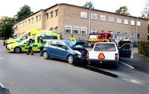 Olyckan inträffade utanför Vasaskolan.