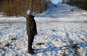 Ann-Marie Larsson kommer ihåg när det var full fart ute vid Högbyns skidanläggning.
