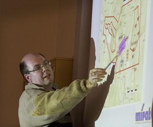 Förutsättningarna för en gruva är goda i Bricka anser Mats Jönsson som gör miljökonsekvensbeskrivningen på uppdrag av Svenska vanadin AB.