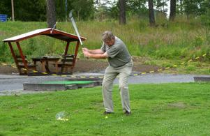 Golfveckan på Ånge golfklubb avfyras med Lions cup som är en insamlingstävling för Barndiabetesforskning. Björn Kjellgren är ansvarig för tävlingen.