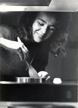 Fritidsgården Bjurhovda 9 januari 1974.