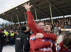 Edsbyns IF vann fem raka finaler på Studenternas IP åren 2004-08.