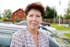 Sigyn Bergh-Eriksson, Hackås:– Skola och äldreomsorg är alltid viktigt. Men frågan om samhällsservice är också betydelsefull. Vi som bor utanför stan måste även i fortsättningen få möjlighet att göra det.
