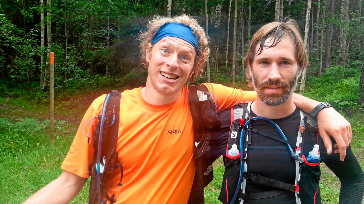 Johan tvingade springa tre kilometer