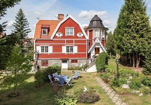 Villa Annedal är till salu och ligger på tredje plats på klicktoppen för vecka 34 i Västerås. Foto: SE360