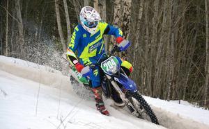 Joakim Nordin vann juniorklassen och slutade tvåa i det totala sammandraget i Ludvika.
