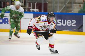 Pontus Själin i en SHL-match mot Rögle tidigare den här säsongen.