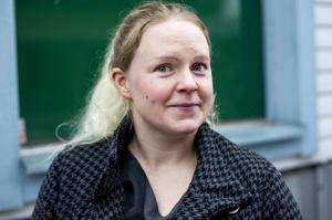 Anna-Klara Hernell, Domsjö:– Polis tror jag att jag ville bli när jag var liten. Jag blev sjuksköterska. Det blev bara så, jag halkade in i vården.