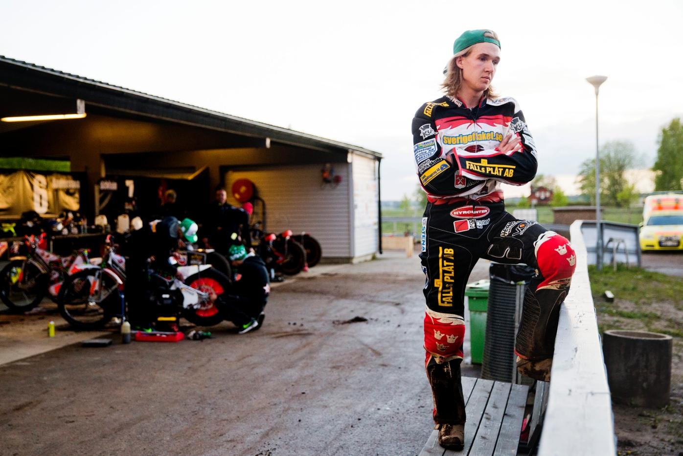 Lindgren missade i speedwaykval