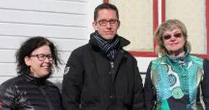 Toppkandidaterna Veronica Eklund, Johan Loock, Birgitta Franzon.