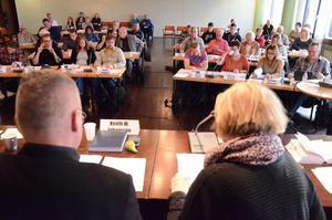 Kommunfullmäktige tog beslut om en ny budget för 2015. Och sade ja till att inleda ombyggnationen av förskoleområdet Lärkan.