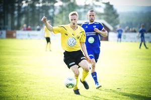 Erik Wästman höll sig framme och placerade in segermålet i andra halvlek.