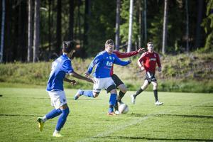 Fredrik Mårtensson gjorde hattrick i matchen mot Gnarp på söndagen.
