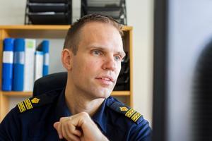 Gruppchef Rickard Eriksson var med under insatsen där polisen slog till mot två olika fastigheter i nordvästra Hälsingland.
