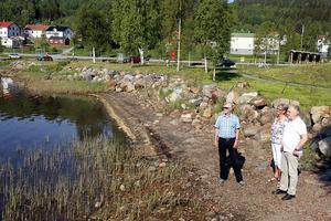 I en nästa etapp finns planer på att kanske återskapa den badplats som tidigare låg här nära hamnen, Vesa som den kallades. Arbetet har påbörjats nyligen  bland annat med hjälp av asylsökande som bor i Docksta.
