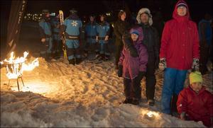 Invigning av Hamrafjälls nya sexstolslift.