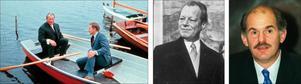 Bruno Kreisky, Olof Palme, Willy Brandt och Giorgios Papandreou – alla har de suttit i samma båt.