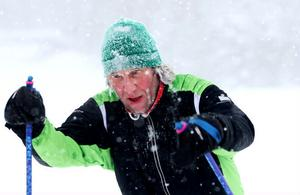 Stefan Nilsson från Sandarne siktar på att göra Söderhamnsklassikern. Nu kan han pricka av Kanonlöpet där han fick både is i skägget, fika och plakett.