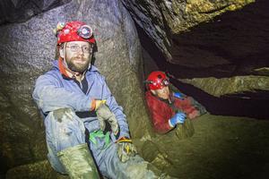 Johannes Lundberg och Torbjörn Djuvfeldt har utforskat många grottor.