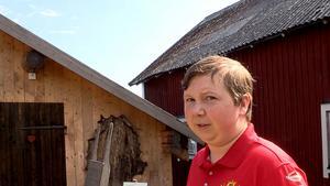 Max Berglund är så gott som uppvuxen på Ulvön. I sommar jobbar han som guide på Ulvö museum.