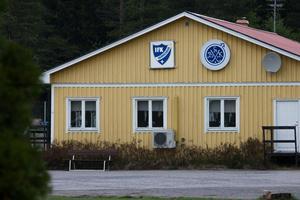 Grängesbergs klubbhus på Grängsbergsvallen.