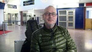Lars Bloch vill gärna till Spanien för att flygtiden inte är så lång.