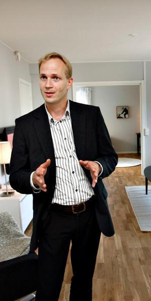 Patrick Skoglund, VD för Sandvikenhus, har förhandlat fram ett så kallat planläggningsavtal med kommunen.