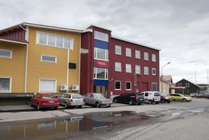 Här vill Mitt hjärta öppna sin hälsocentral i Hudiksvall. Järnhandelns Bertil Rudolphi har ansökt om bygglov för att ändra kontorslokalernas användning till vårdändamål.