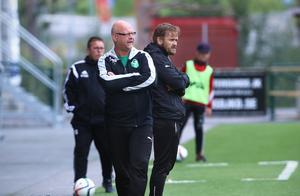 Roger Dannberg och Mats Falck fick se sitt lag förlora med 0–5 mot Östersund.