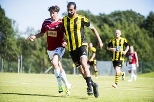 Matchen mellan IFK Östersund och Kubikenborgs IF slutade med storseger för bortalaget Östersund.