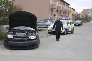 Flera bilar var inblandade i en olycka vid Barnängsgatan-Långgatan i Hallstahammar på fredagsförmiddagen.