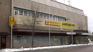 Gallerian i centrala Fagersta är tom för tillfället. Nyligen såldes fastigheten.