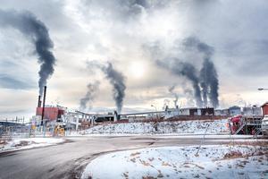 Kvarnsvedens bruk i Borlänge.