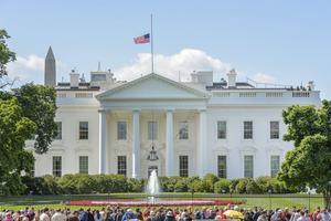 Vita huset i Washington DC, det officiella residenset för USA:s president, byggdes med inspiration från Andrea Palladios arkitektur.