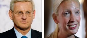 LÖJLIGT! Carl Bildt ser inga problem med Sofia Arkelstens gratisresor, de är en del av jobbet. Själv har Bildt åkt gratis många gånger. Anklagelserna om korruption eller jäv är löjliga, mycket löjliga, säger han.