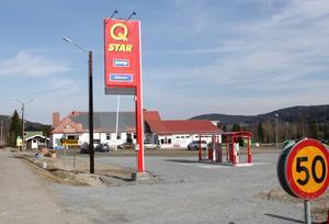 Qstar har ungefär 280 stationer runt om i landet och i Timrå kommun finns det sedan tidigare en som ligger i Ljustorp.