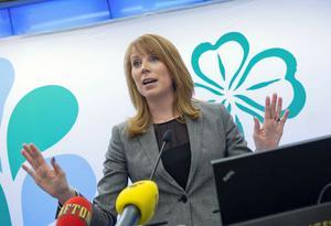 Centerledare Annie Lööf presenterade i går partistyrelsens förslag till idéprogram.