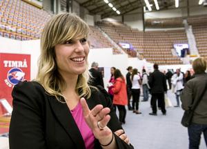 Camilla Abrahamsson, projektledare på Mittevent.